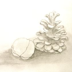 Pineapple with Walnut, Paula Kuitenbrouwer