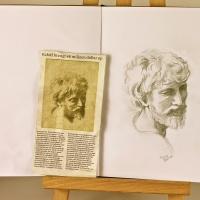 Studying Raphael (Raffaello Sanzio da Urbino) I