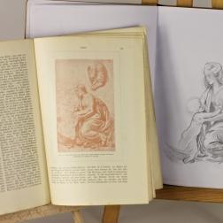 Studying Raphael.