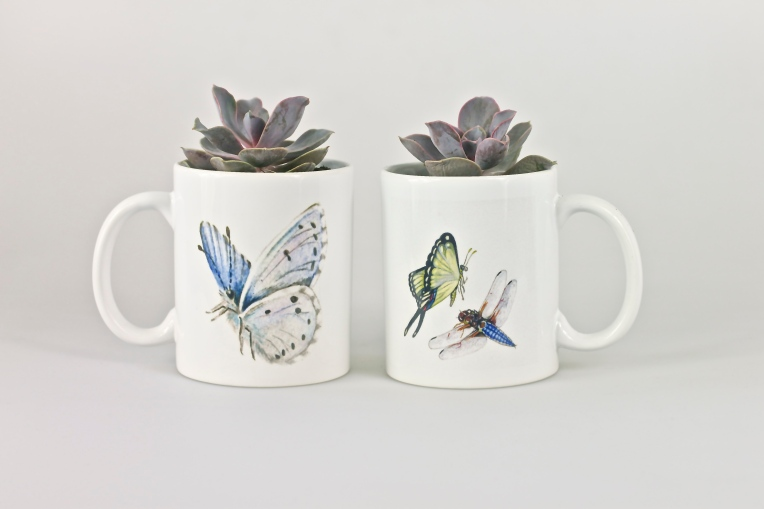 My Butterfly Mugs Paula Kuitenbrouwer