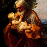 Guido Reni (Bologna 1575-1642) St Joseph with the Infant Jesus