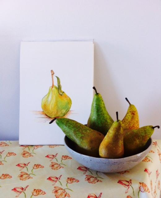 Peer Fine Art Card and Tulip Fabric, by Paula Kuitenbrouwer