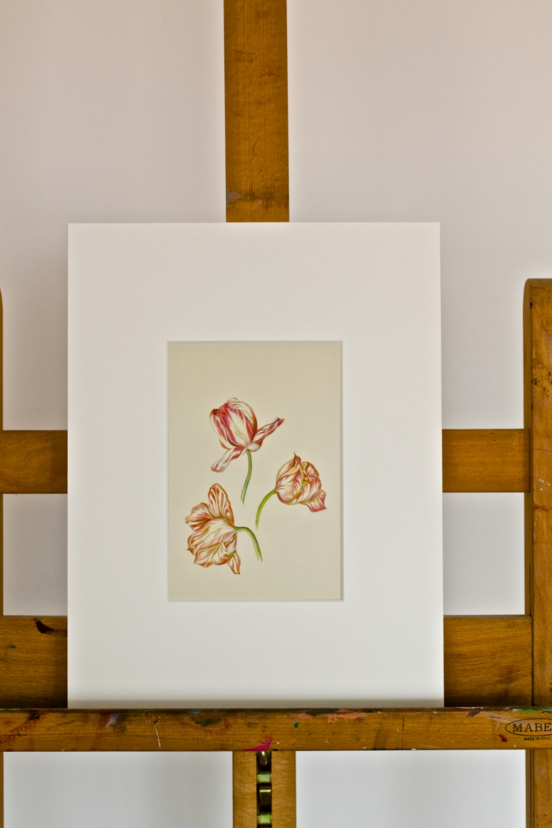 Three Tulip Heads: minimalistic, yet full elegance.