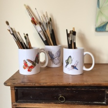 Studio Pencils in Mugs Paula Kuitenbrouwer