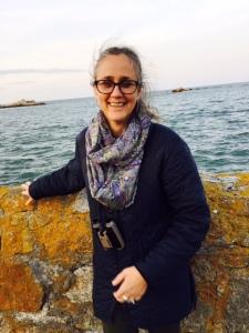 Paula at Irish Coast