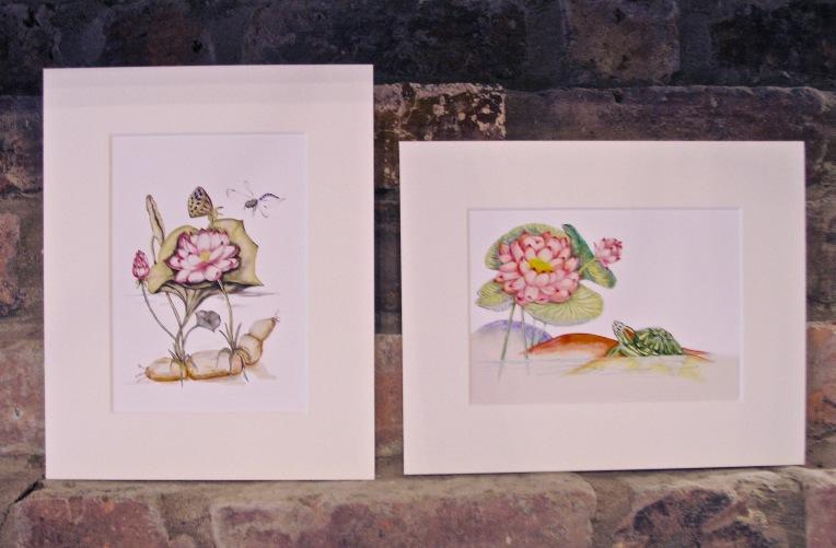 Two Lotus Prints
