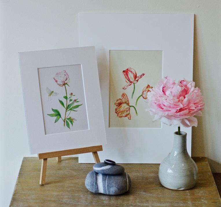 Tulpen en Pioenroos peony print.jpg