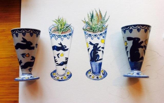 WIP Vases