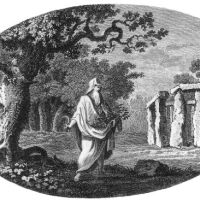 How Interpretations of the Ritual Nature of Stonehenge Have Changed over Time; a study illustrated with 5 artworks