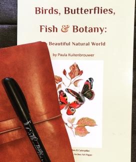Paula Kuitenbrouwer's Birds, Butterflies, Fish & Botany