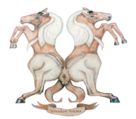 Copyright Paula Kuitenbrouwer 'Celtic Horses with Swans and Hares'.
