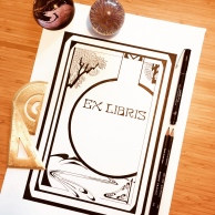 Ex Libris by Paula Kuitenbrouwer