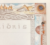 Preview of a Customized Border or Ex Libris Commission