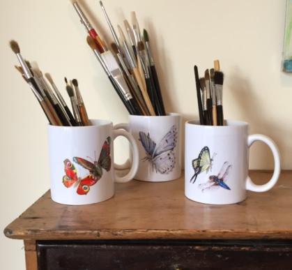Paula's Butterflies Mugs