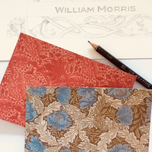 William Morris inspired floral drawing Paula Kuitenbrouwer