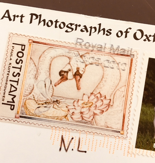 Poststamp with Cancellation Mark by Royal Mail