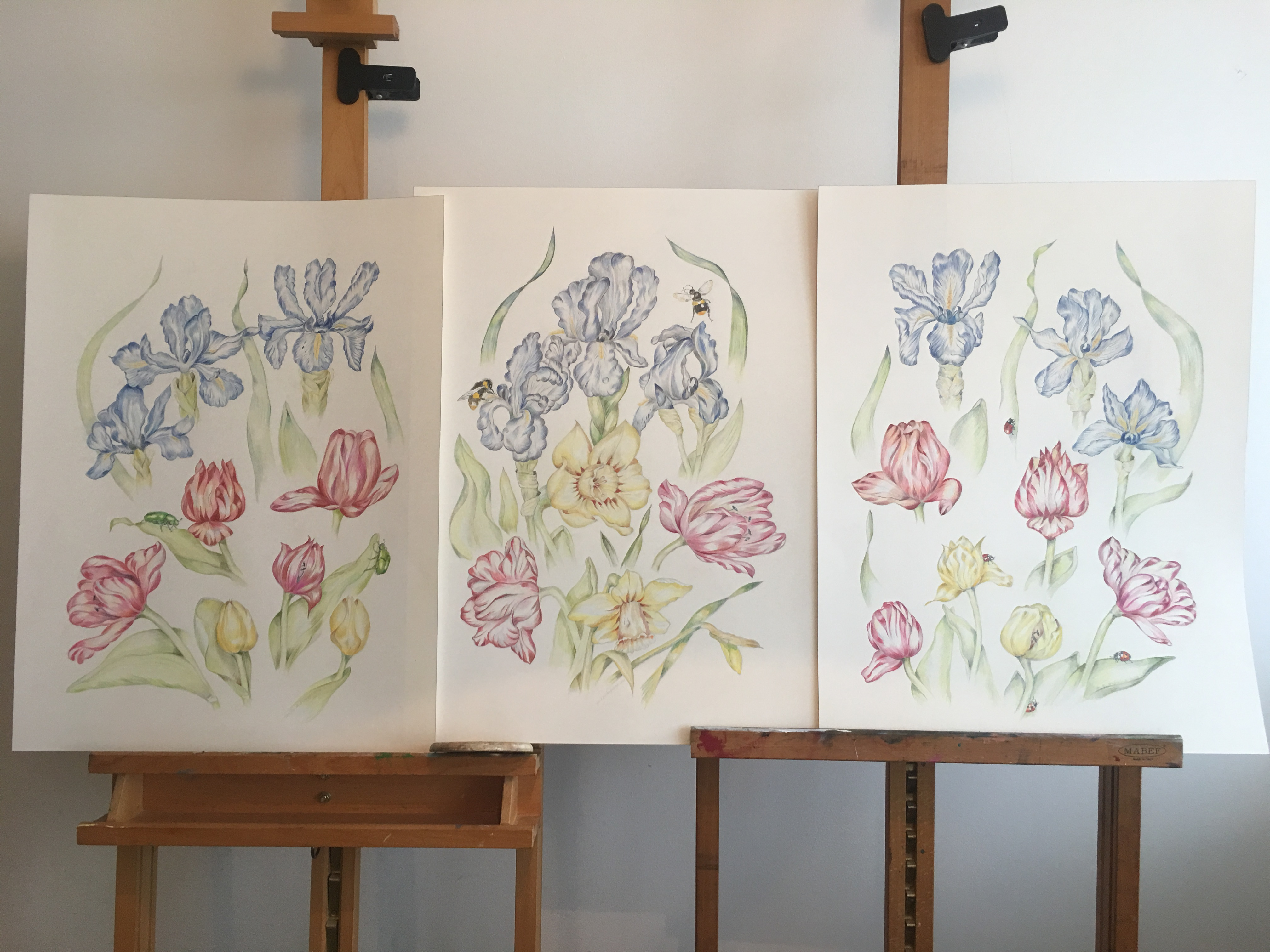Drieluik Triptychion